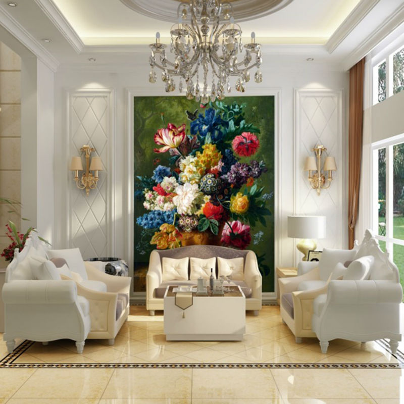 Best Customized European Style Vintage Beautiful Flowers Large This Month