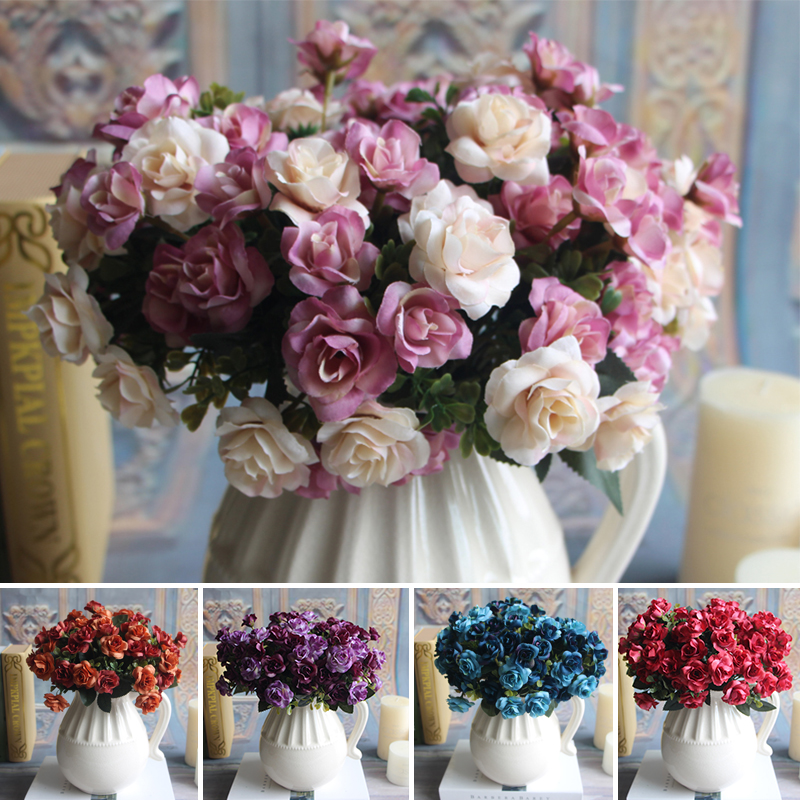 Best Aliexpress Com Buy Austin 15 Heads Silk Flowers This Month
