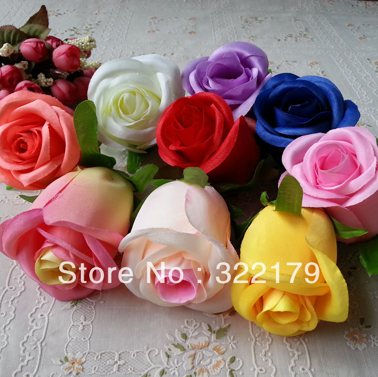 Best Aliexpress Com Buy 10X Silk Flower Heads Bulk 8Cm This Month