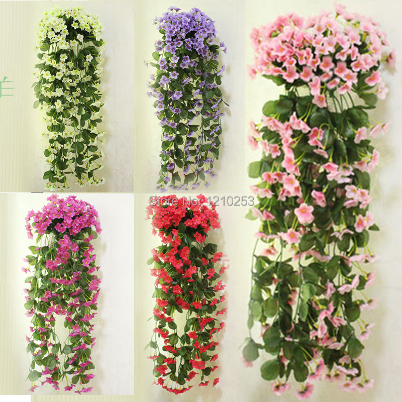 Best Wall Mounted Home Wedding Decorations Artificial Flowers This Month