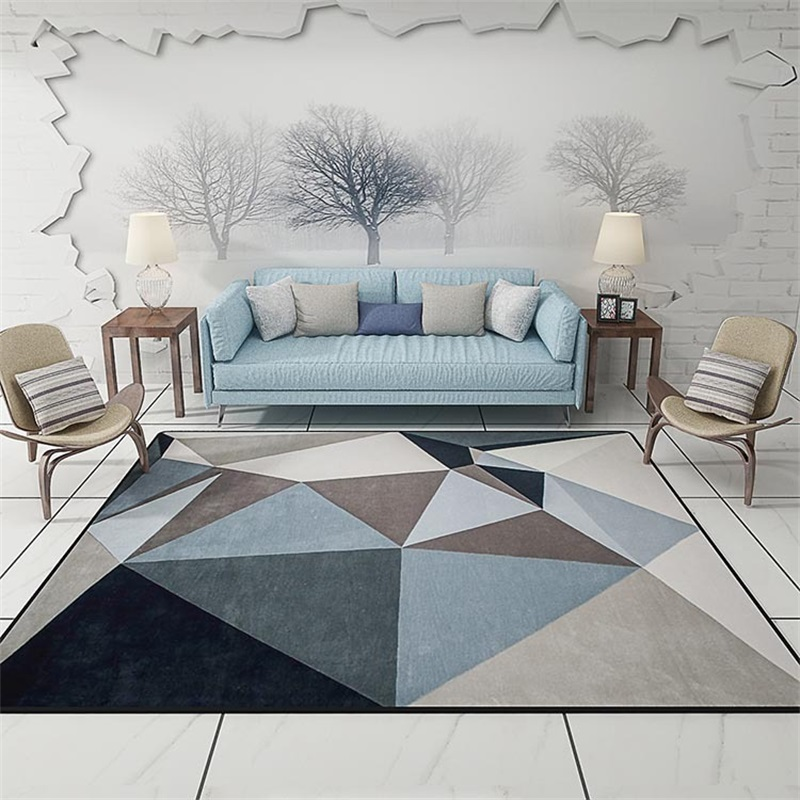 Best Modern Scandinavian Triangles Geometric Parlor Living Room This Month