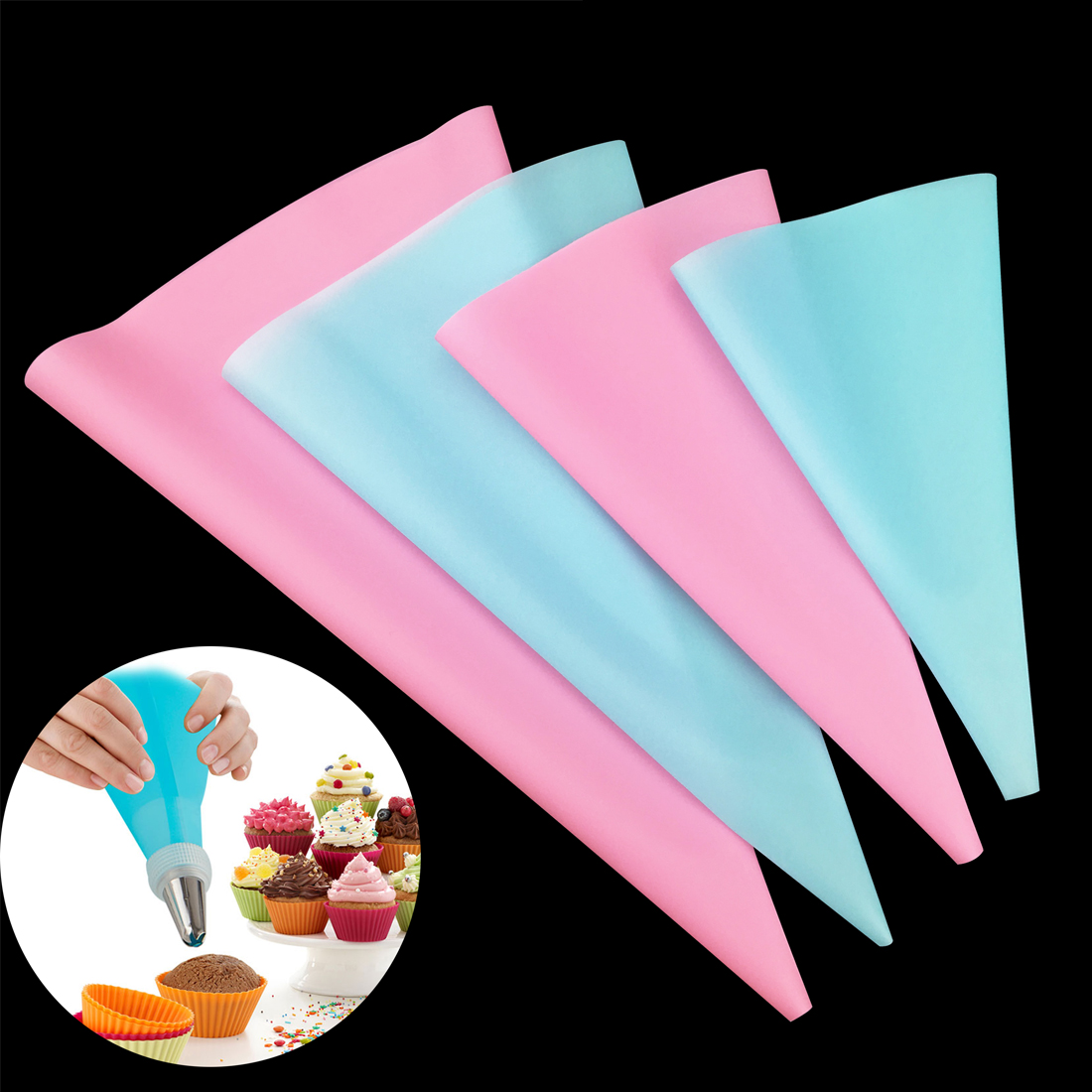 Best Aliexpress Com Buy Super 4Pcs Confectionery Bag Silicone This Month