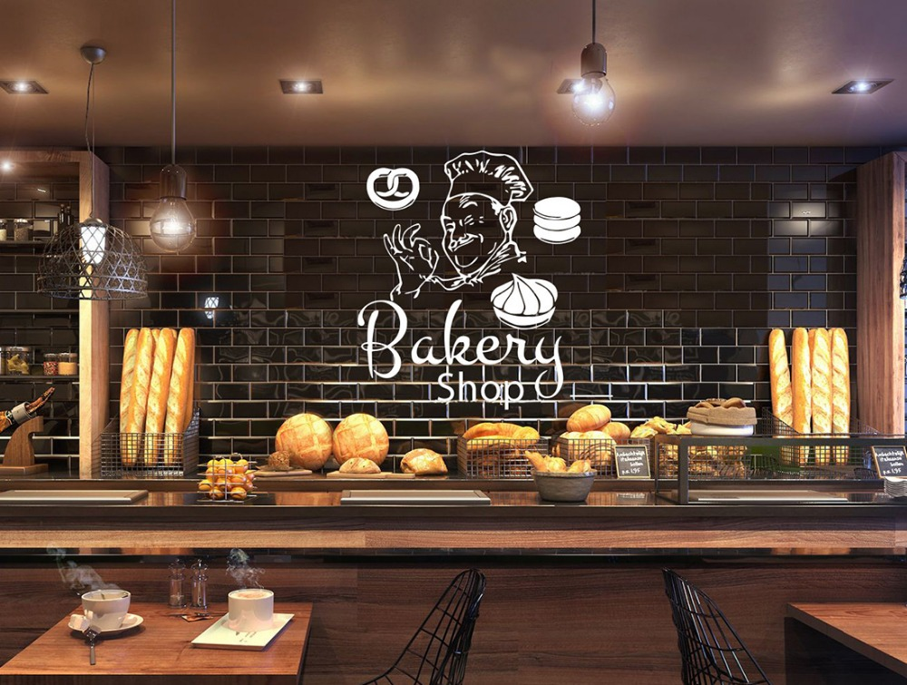 Best Bakery Shop Wall Window Decor Decals Home Decoration This Month
