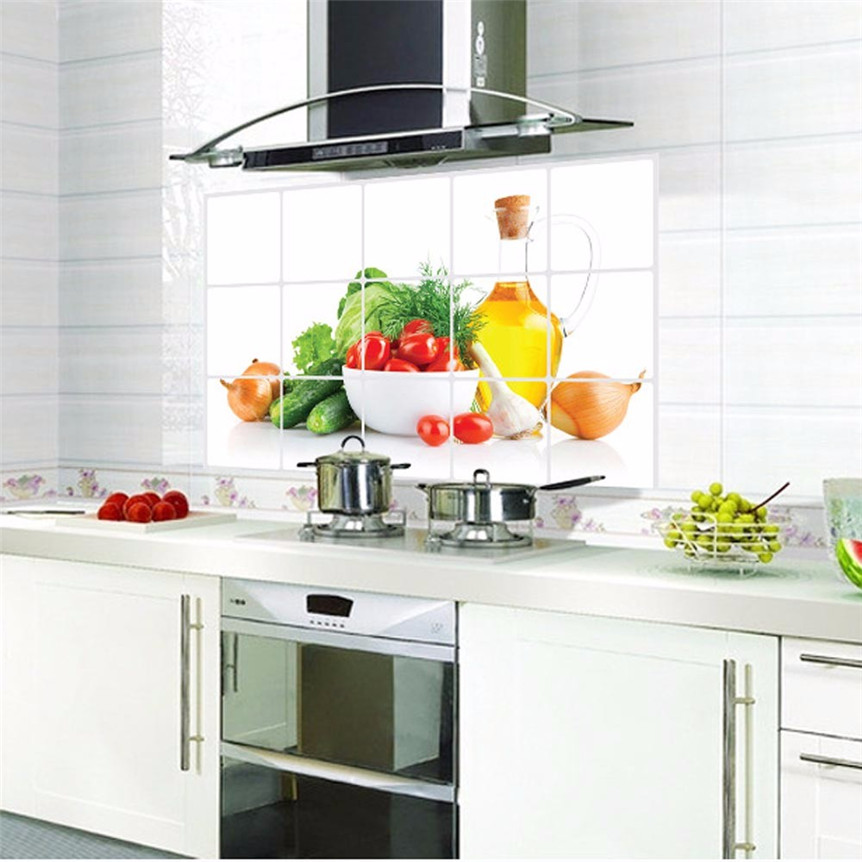 Best Kitchen Oilproof Removable Wall Sticker Aluminum Foil This Month