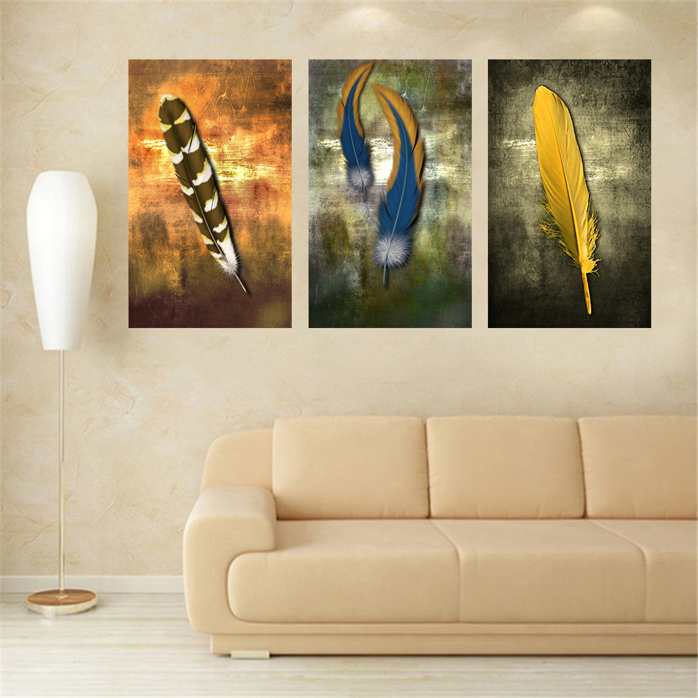 Best Oil Paintings On Canvas Feather White Modern Abstract Oil This Month
