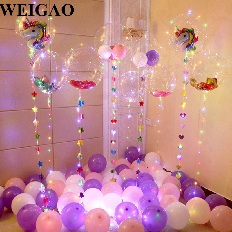 Best Weigao Diy Birthday Party Decoration Helium Bobo Balloons This Month