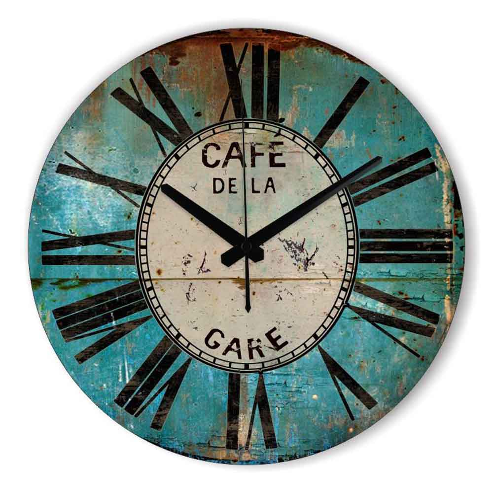 Best Retro Wall Decor Wall Clock Home Decoration Warranty 3 This Month