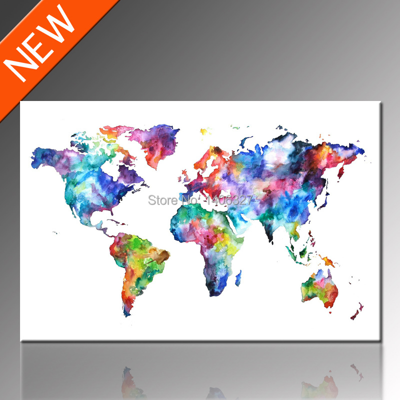 Best Aliexpress Com Buy Free Shipping World Map Canvas Wall This Month
