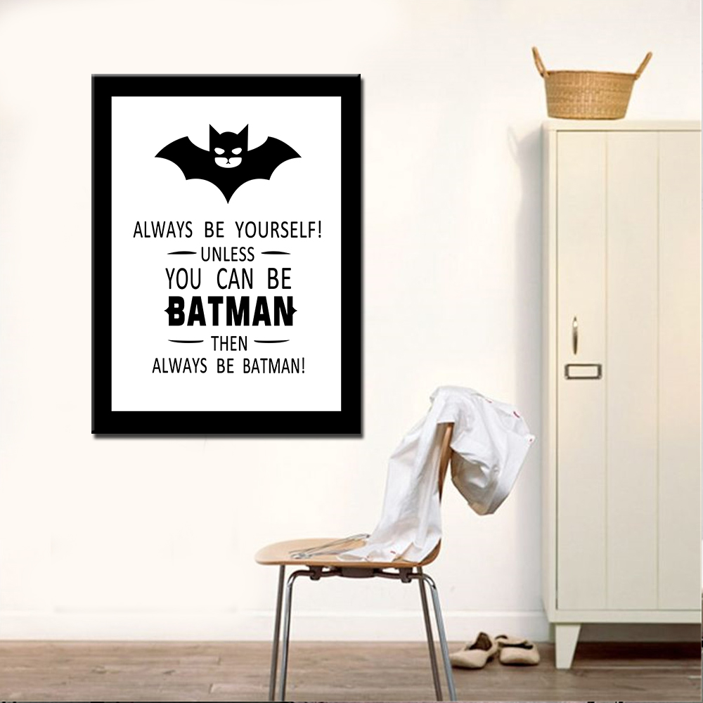 Best Drop Shipping Oil Painting Canvas Prints Modern Batman This Month
