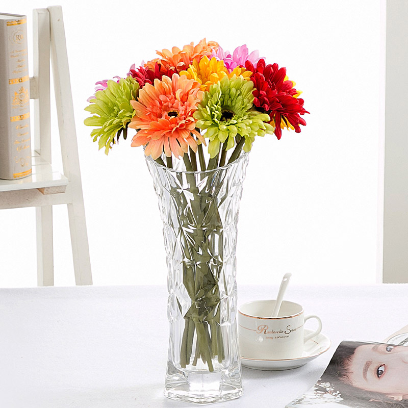 Best 10 Pc High Quality Artificial Flowers Silk Gerbera Daisy This Month