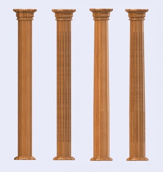 Best Wooden Columns And Pillars Ornamental Decorative And Load This Month