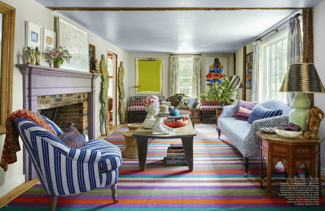 Best Elle Decor July 2017 5 Best Rooms With Designer Rugs This Month