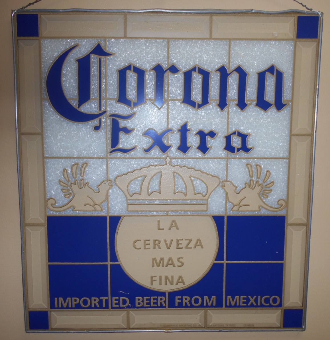 Best Corona Extra Imported Beer From Mexico Stained Glass This Month
