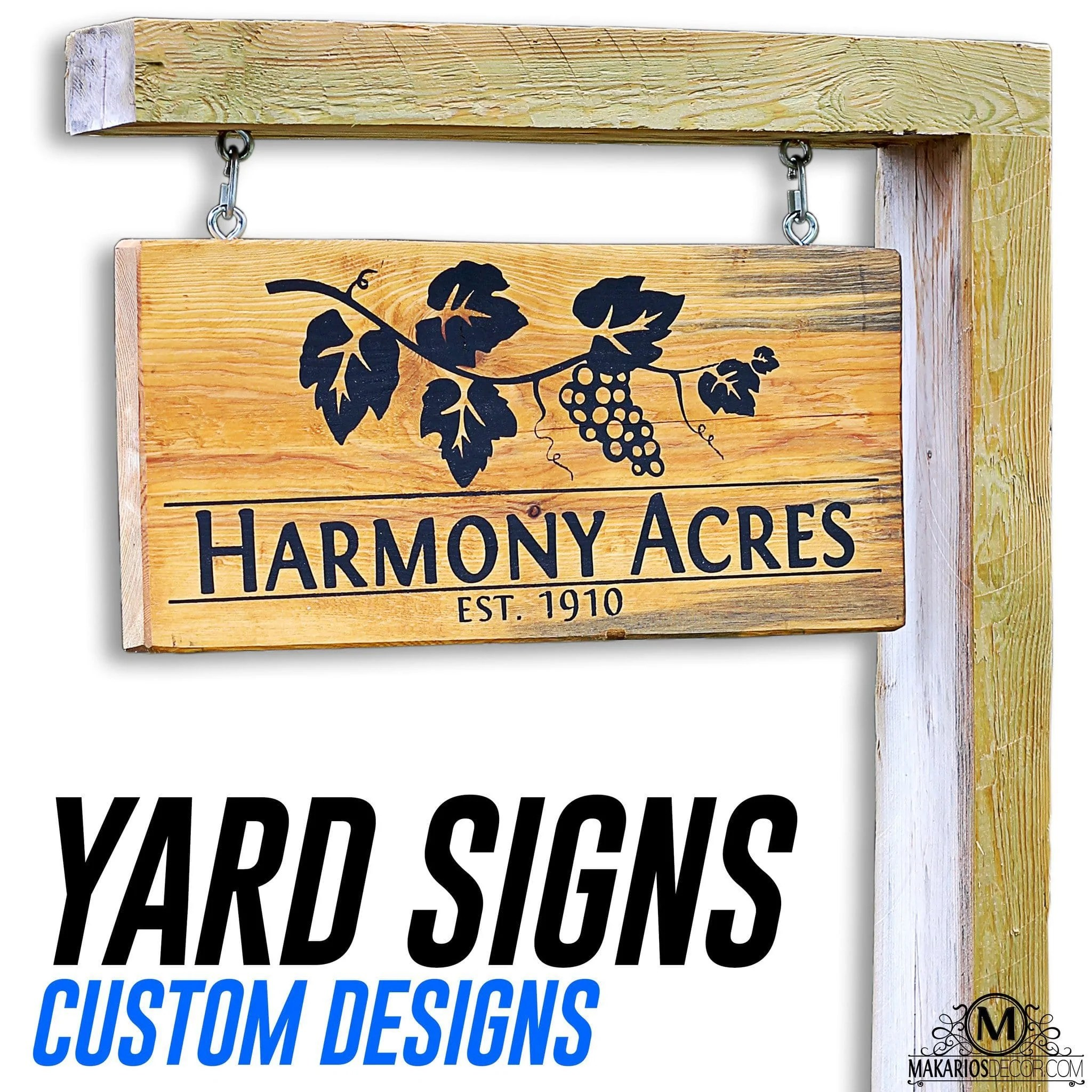 Best Driveway Signs Outdoor Address Sign Makarios Decor This Month