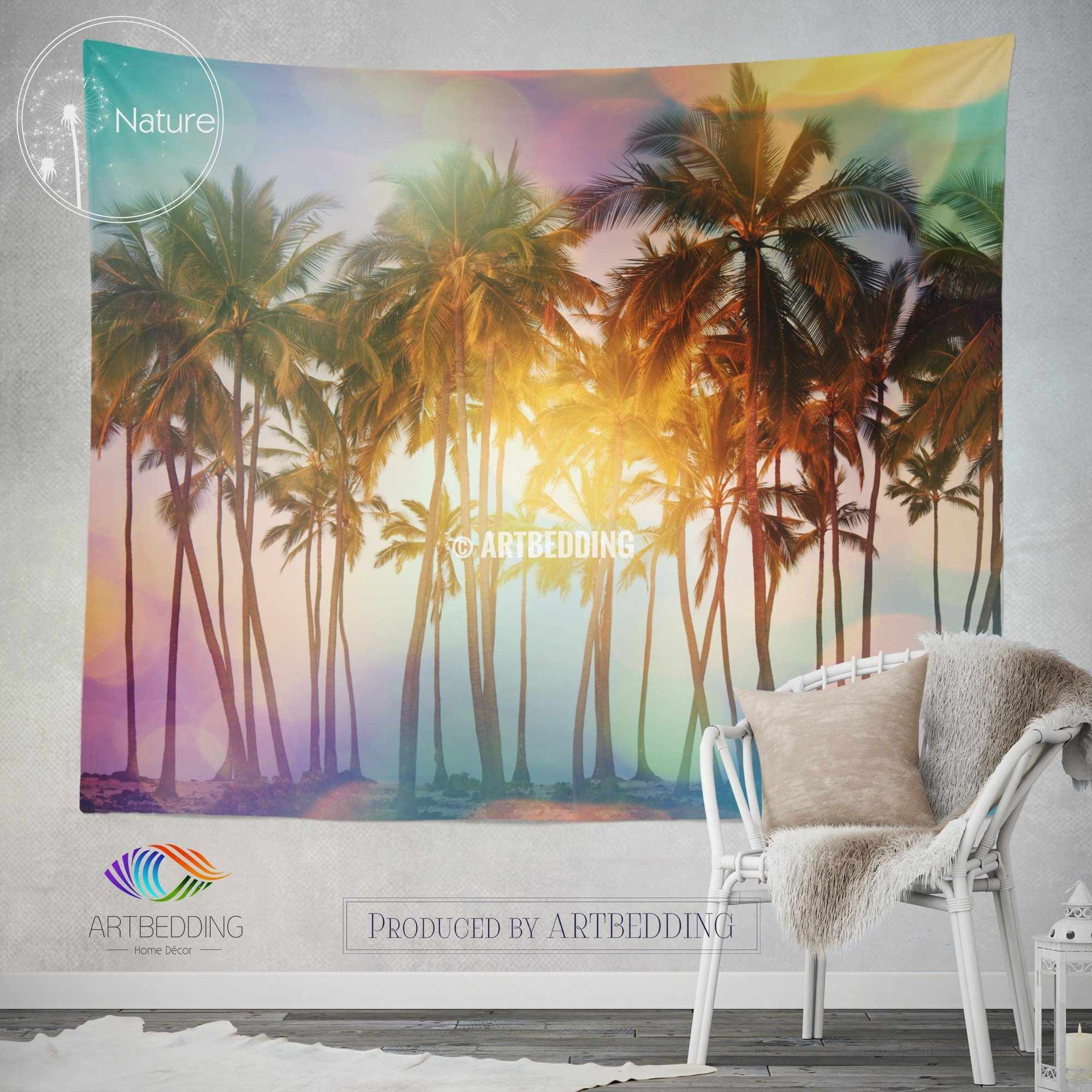 Best Tropical Beach Wall Tapestry Tropical Beach At Sunset This Month