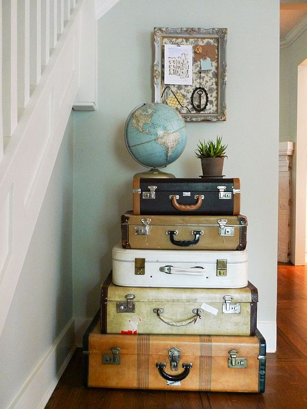 Best Vintage Luggage Home Decor This Month