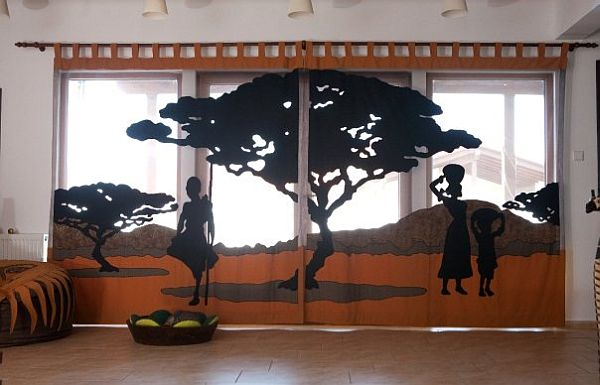 Best African Themed Interior Design From Care Cutare This Month