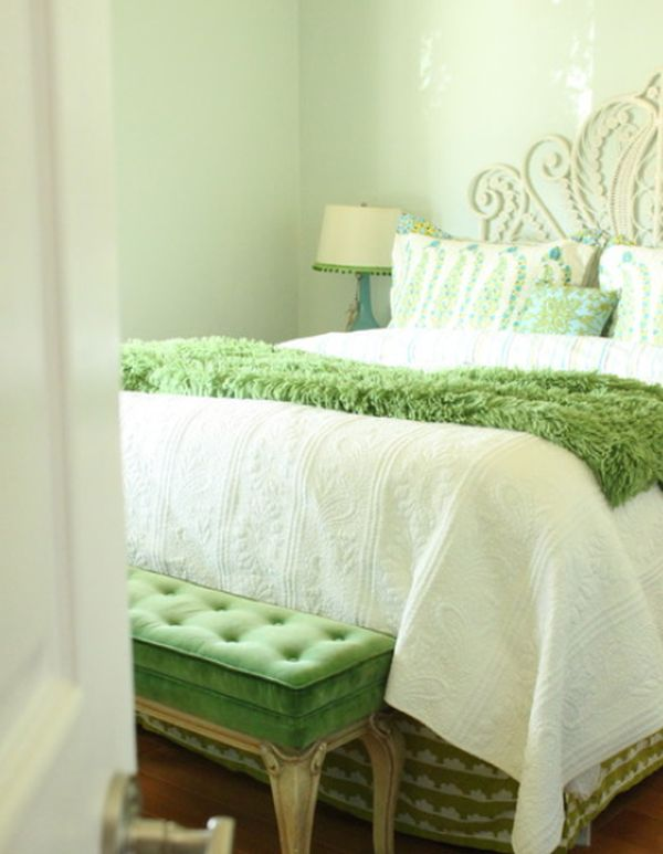 Best Fresh And Relaxing Green Bedroom Designs And Ideas This Month