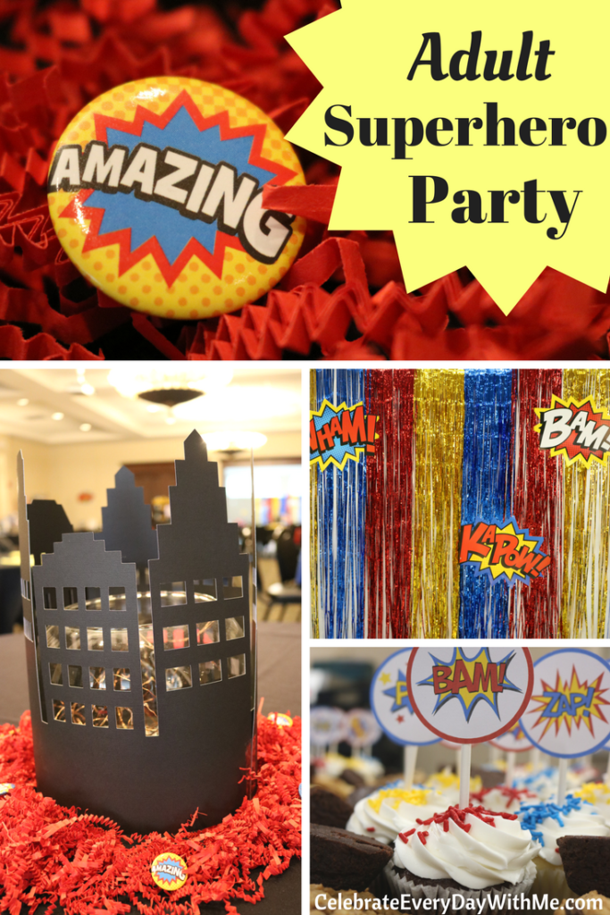 Best Fantastic Decorating Ideas For An *D*Lt Superhero Party This Month