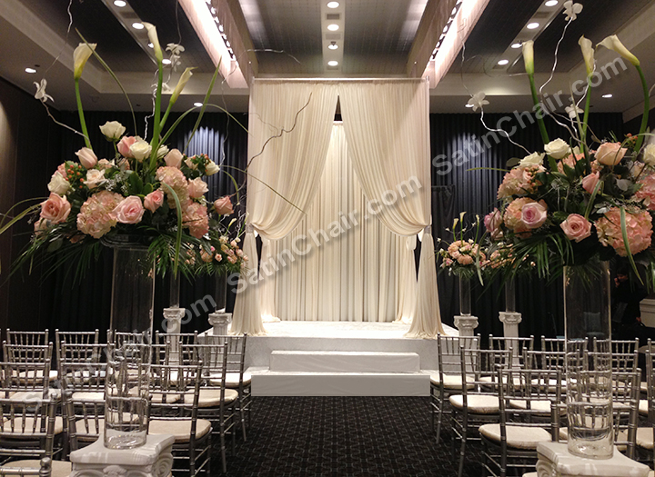 Best Ceremony Decor – Rent In Chicago Event Decor By Satin Chair This Month