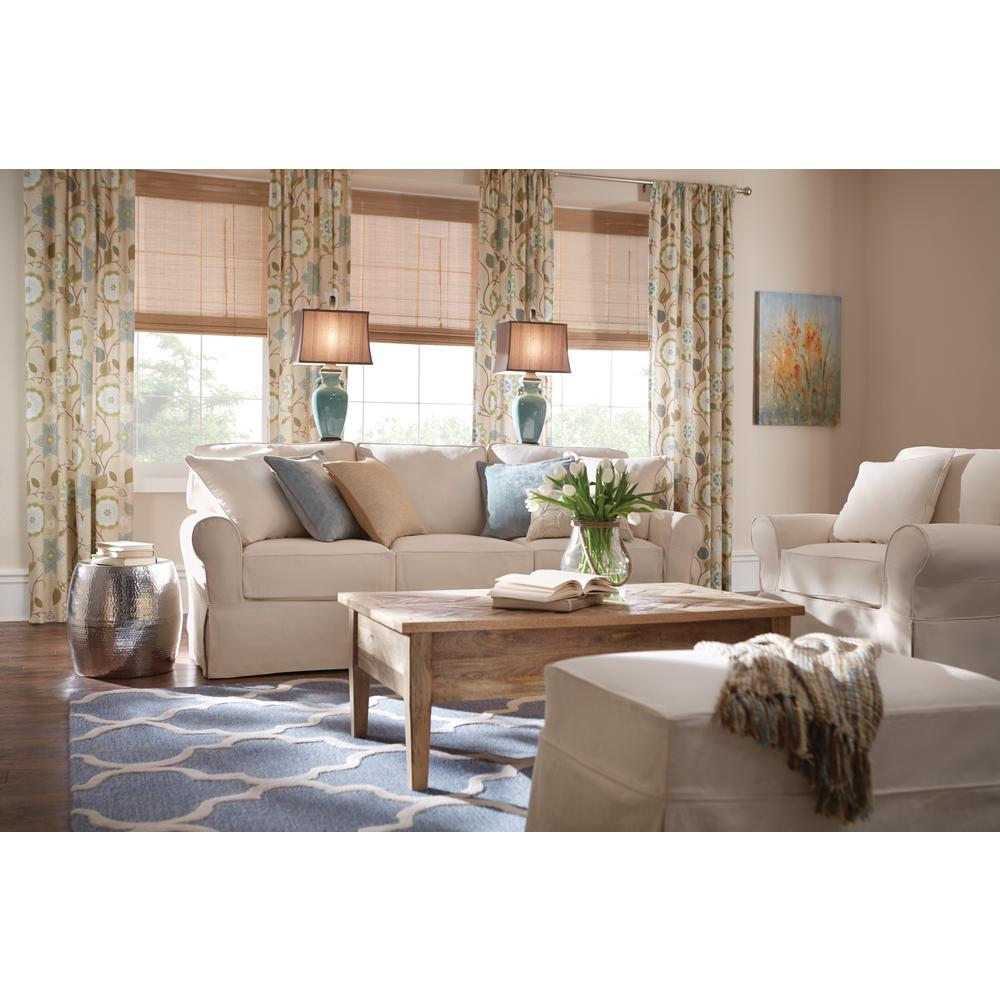 Best Home Decorators Collection Mayfair Linen Pearl Fabric Arm This Month