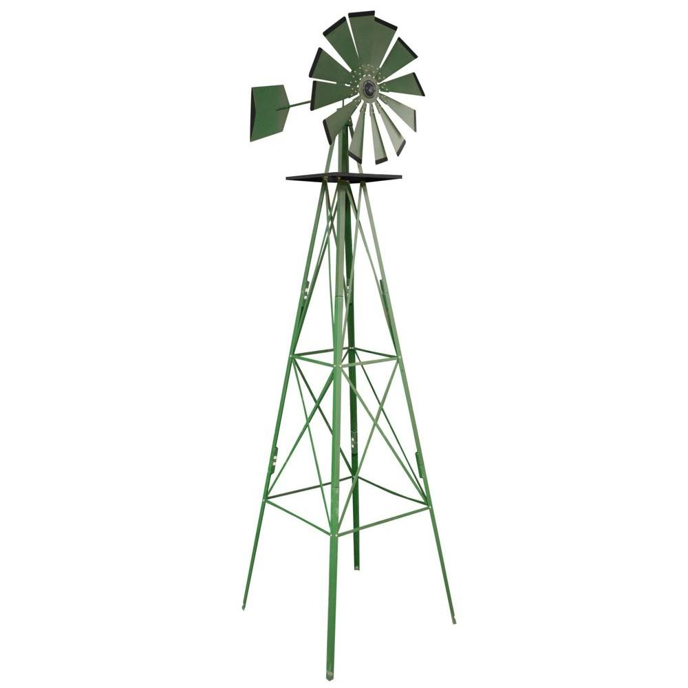 Best Sportsman 8 Ft Green Steel Classic Decorative Windmill This Month
