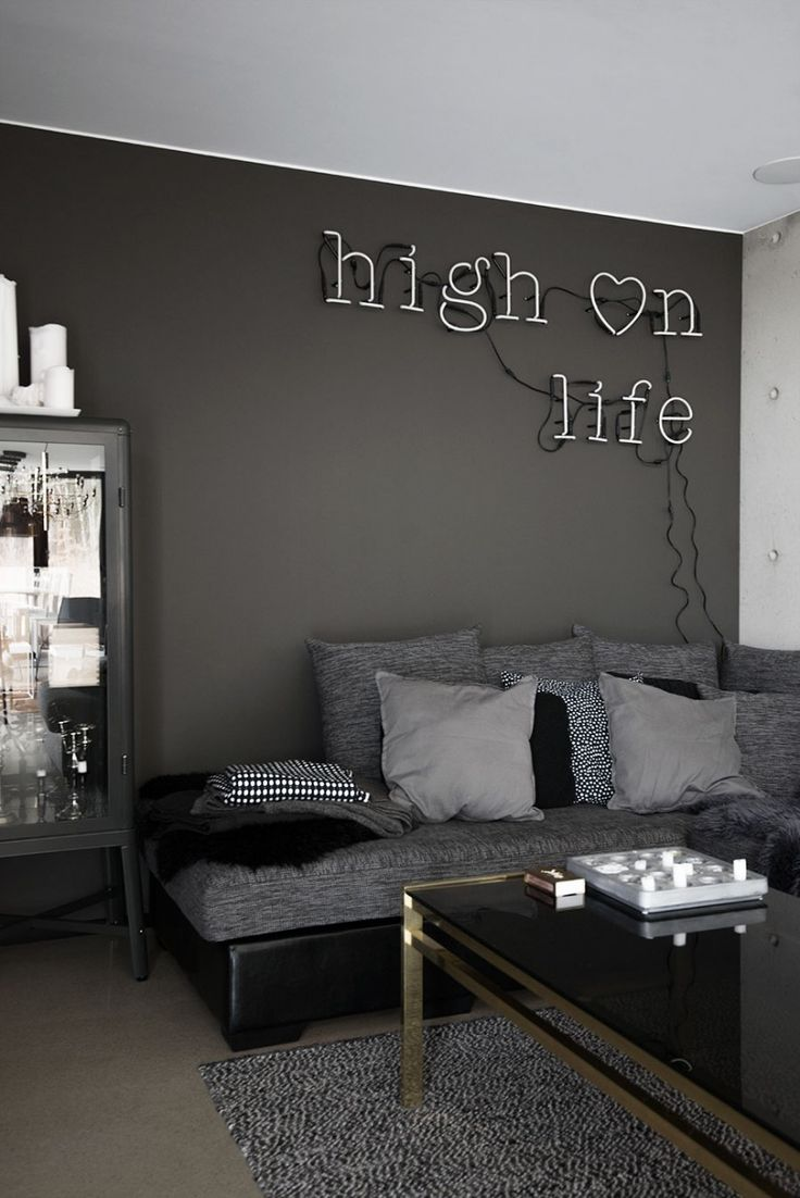 Best 25 Dark Grey Sofas Ideas On Pinterest Living Room This Month