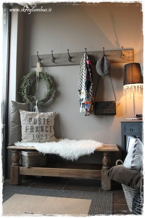 Best 25 Rustic Entryway Ideas On Pinterest Foyer Table This Month