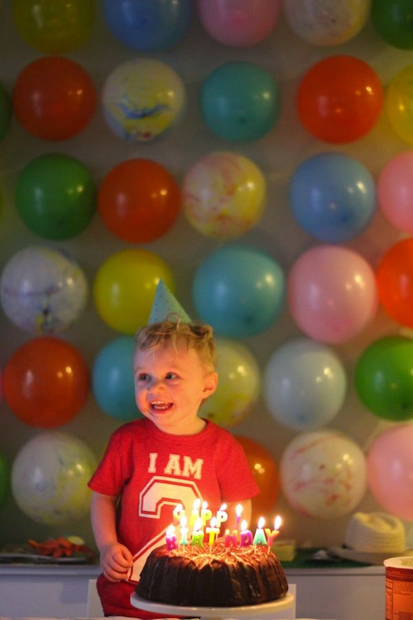 Best Balloon Wall For The Birthday Boy Great Idea For This Month