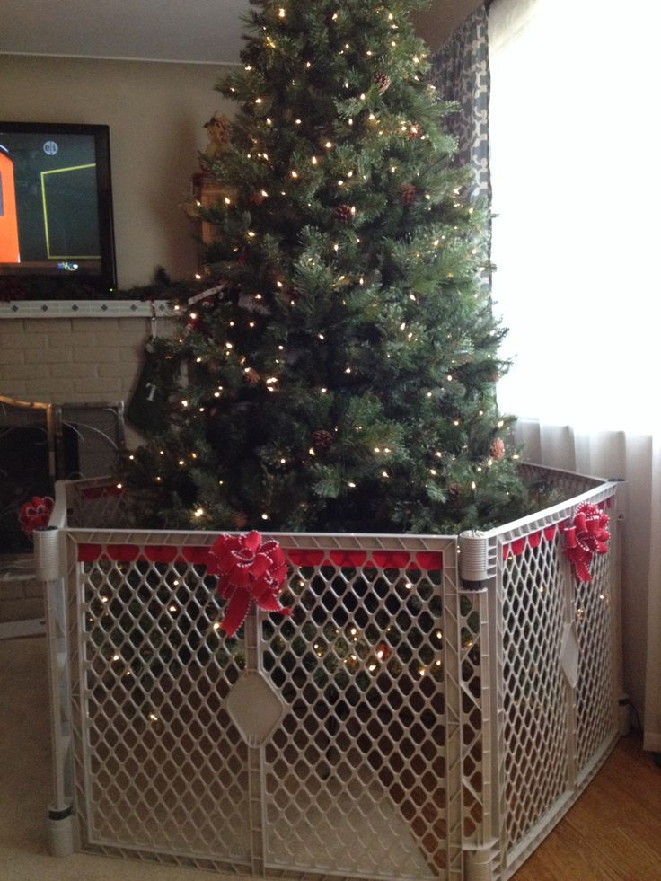 Best How To Make The Baby Gate Around The Christmas Tree Less This Month