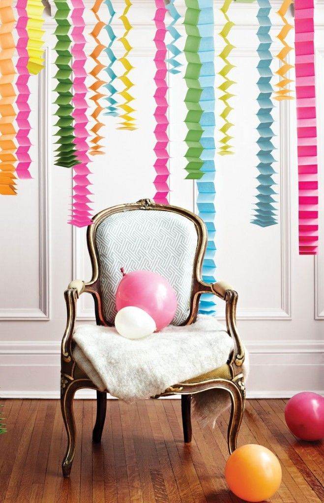 Best 12 Festive Ways To Decorate With Streamers Birthday This Month