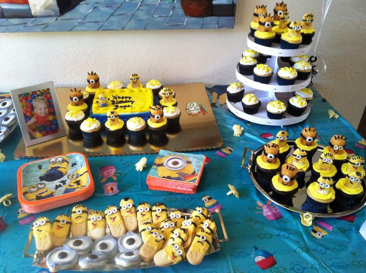 Best Minion Birthday Bash My 2 Year Old Loved His Theme This Month