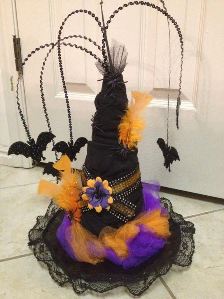 Best 90 Best Witches Hats Diy Images On Pinterest Halloween This Month