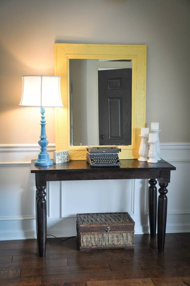 Best Entry Way Table Diy Lamp Diy Candle Sticks Diy Yellow This Month