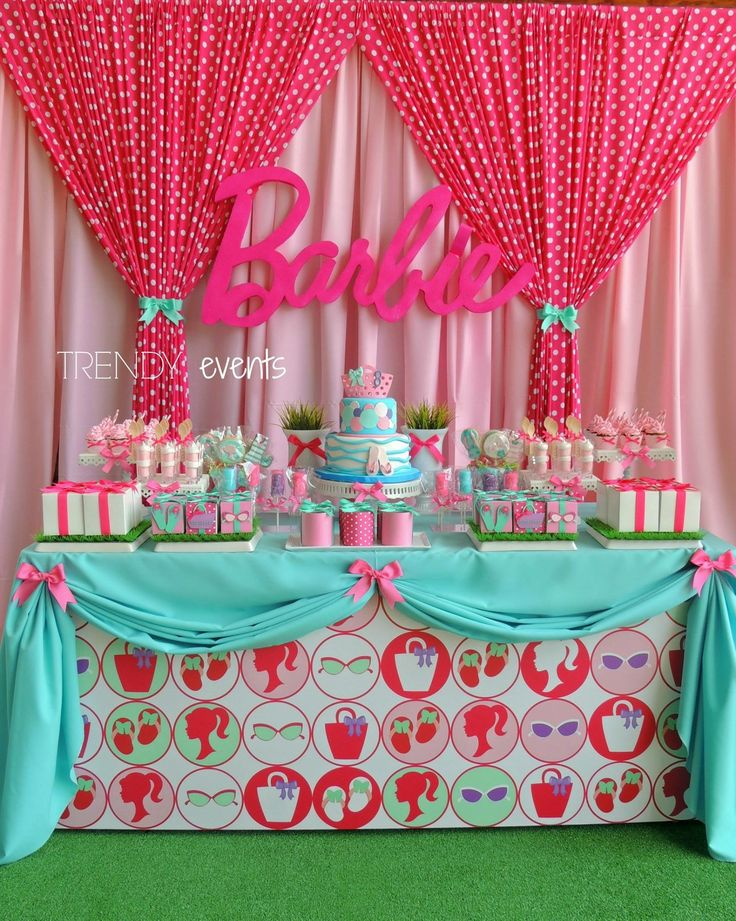 Best 25 Barbie Birthday Party Ideas On Pinterest Barbie This Month