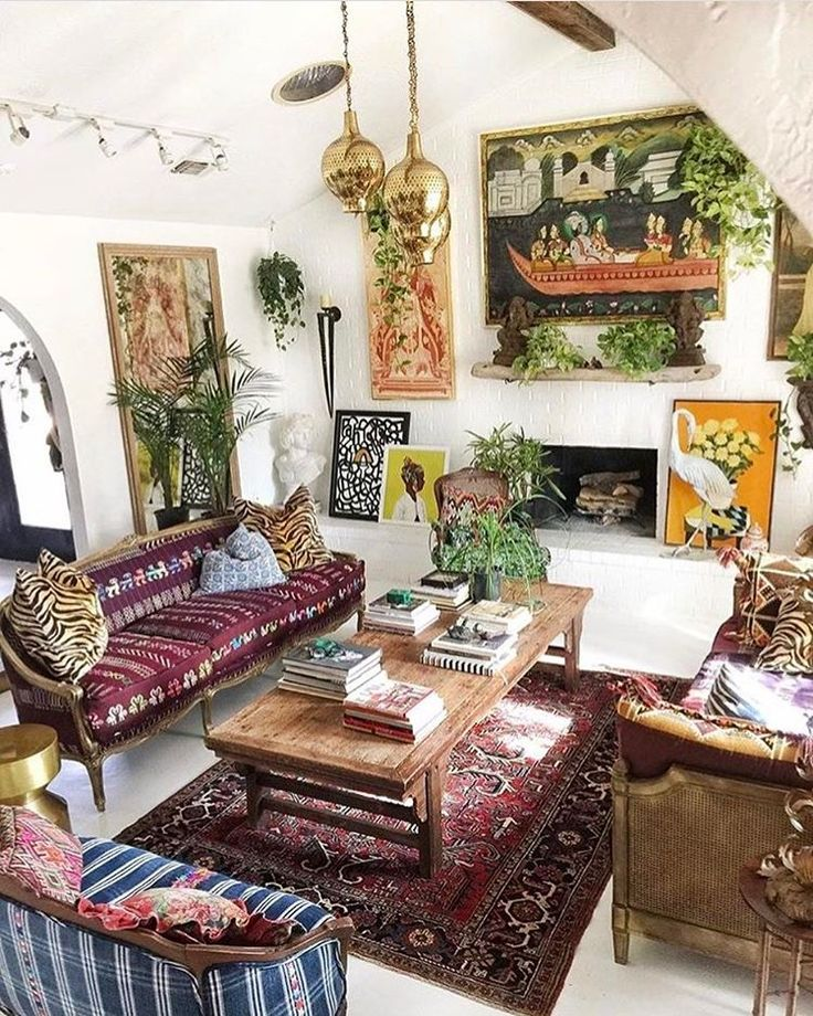 Best 25 Bohemian Living Rooms Ideas On Pinterest This Month