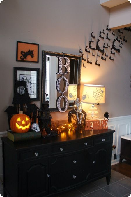 Best Thrifty Decor Ch*Ck Fall Halloween Great Set Up For Front This Month