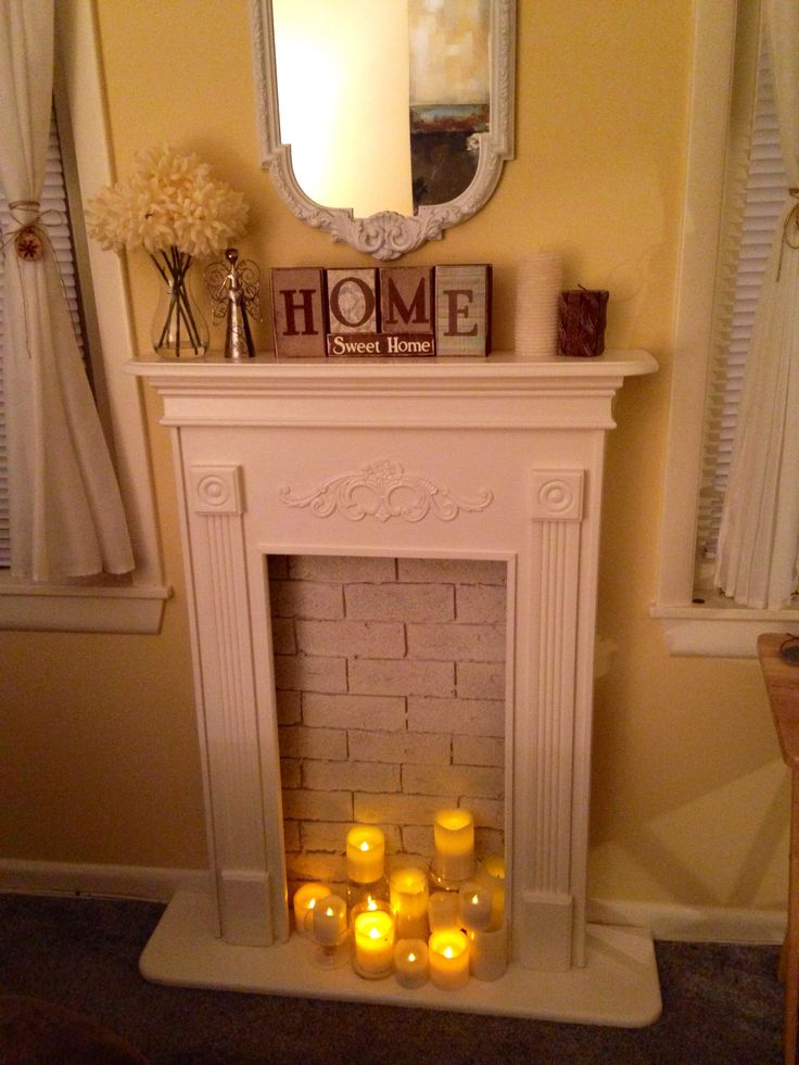 Best 21 Best Fake Fireplace Ideas Images On Pinterest Fake This Month