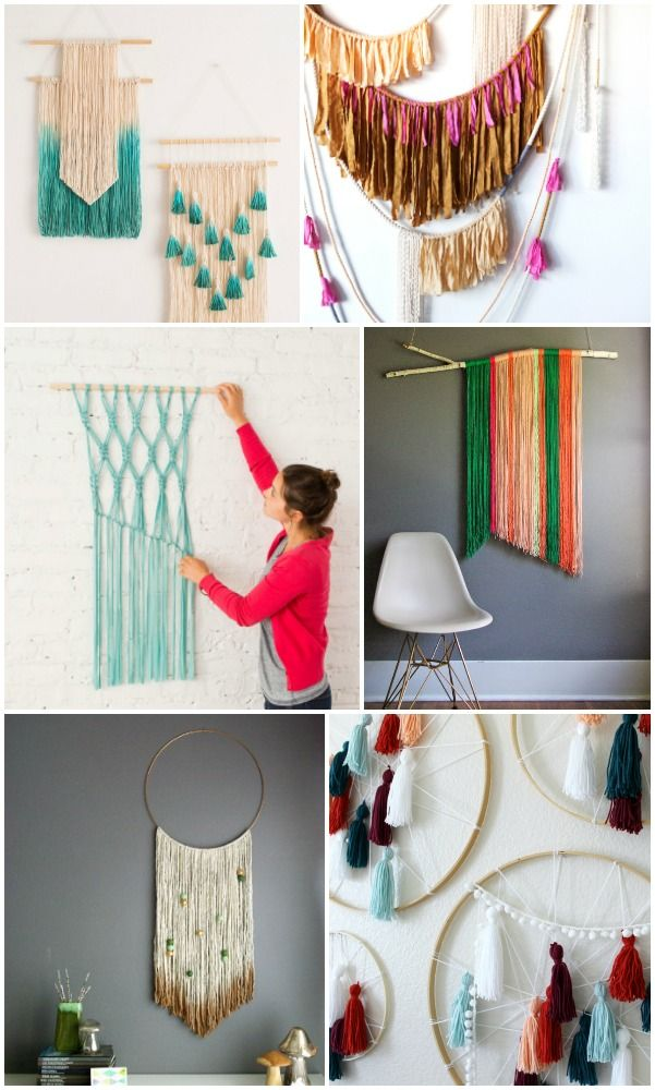 Best 20 Easy Diy Yarn Art Wall Hanging Ideas Diy Home Yarn This Month