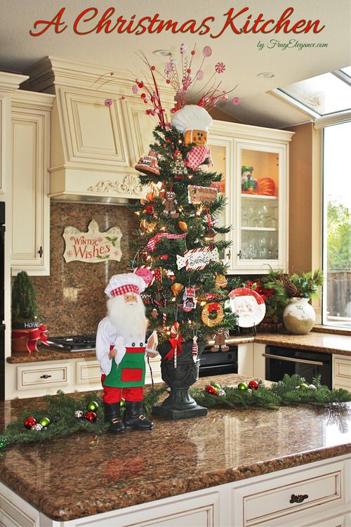 Best 25 Christmas Kitchen Decorations Ideas On Pinterest This Month