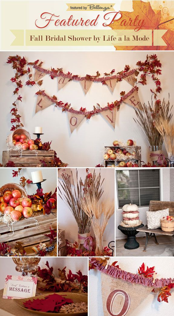 Best 25 Bridal Shower Fall Ideas On Pinterest Autumn This Month
