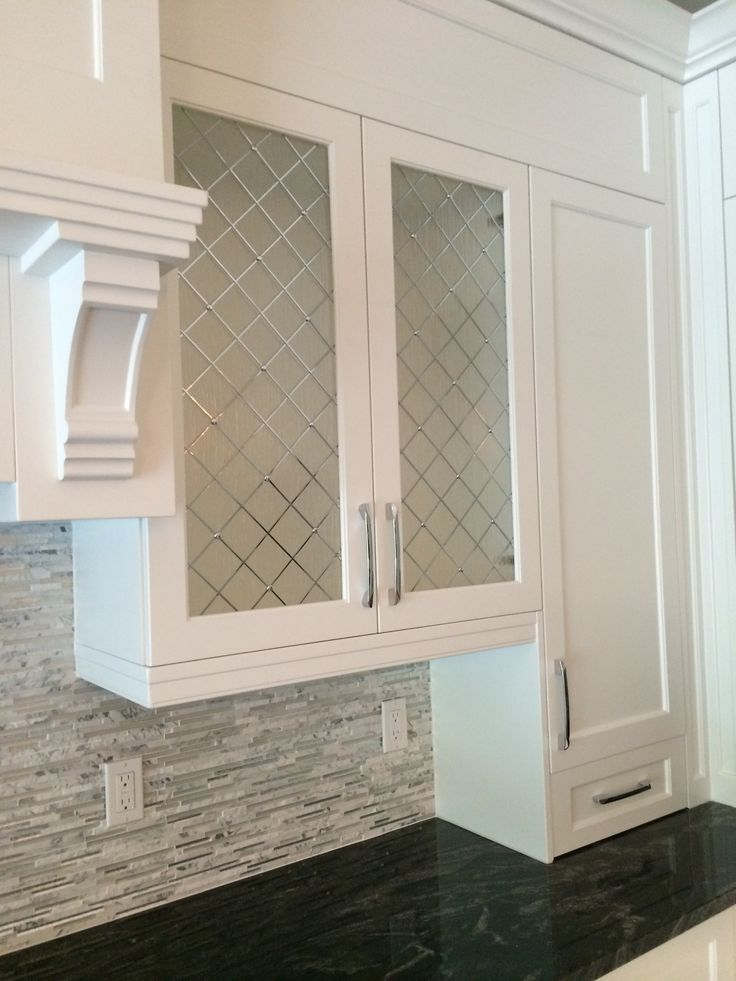 Best Decorative Cabinet Glass Patterend Glass Glass Kitchen This Month