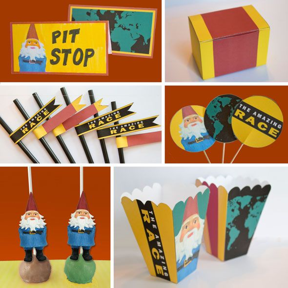 Best The Amazing Race Party Printables Including Sample Clues This Month