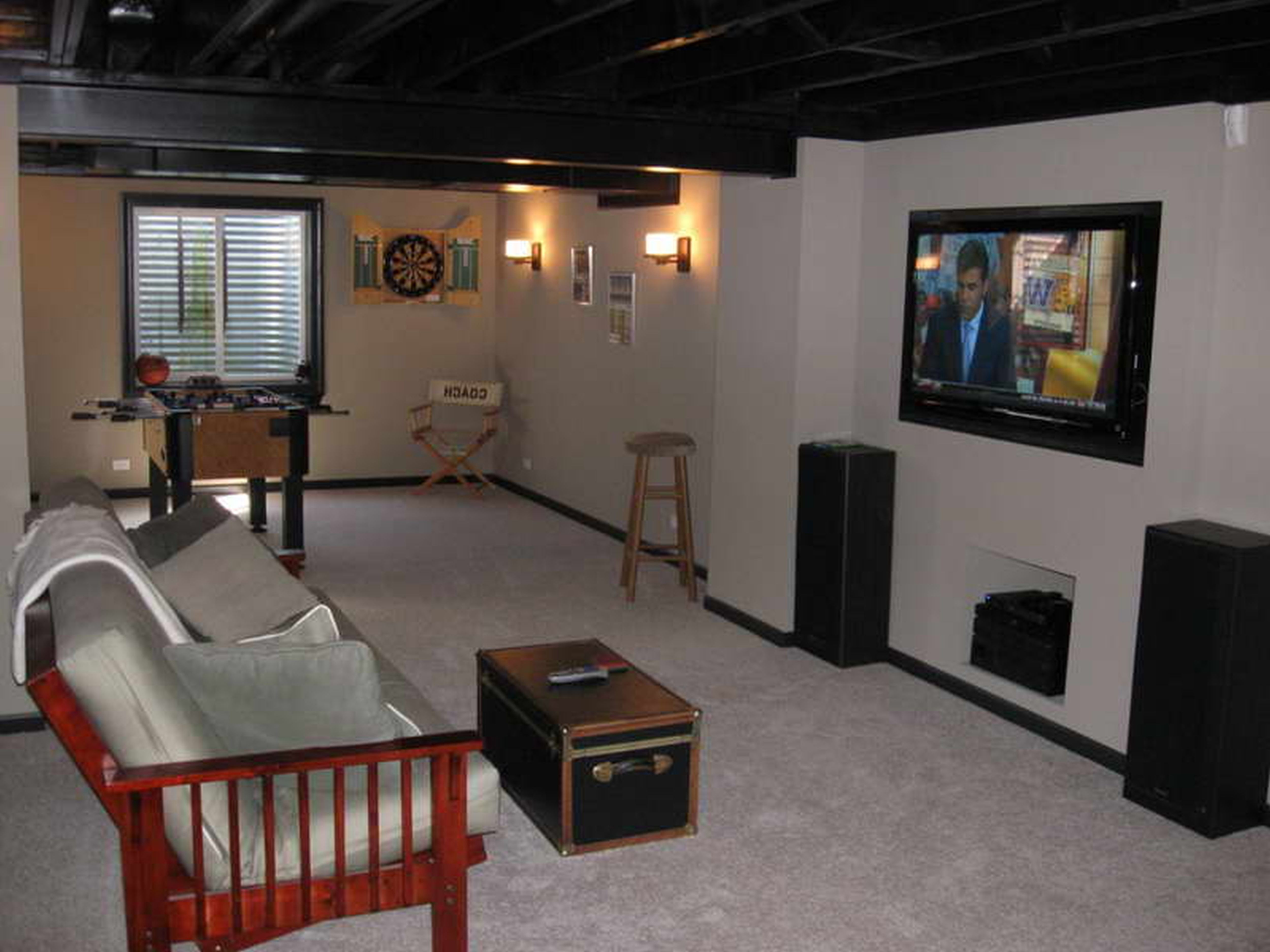 Best Awesome Cheap Decorating Ideas For Unfinished Basements This Month