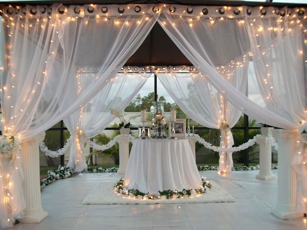 Best Details About Patio Pizazz Outdoor Gazebo White Wedding This Month