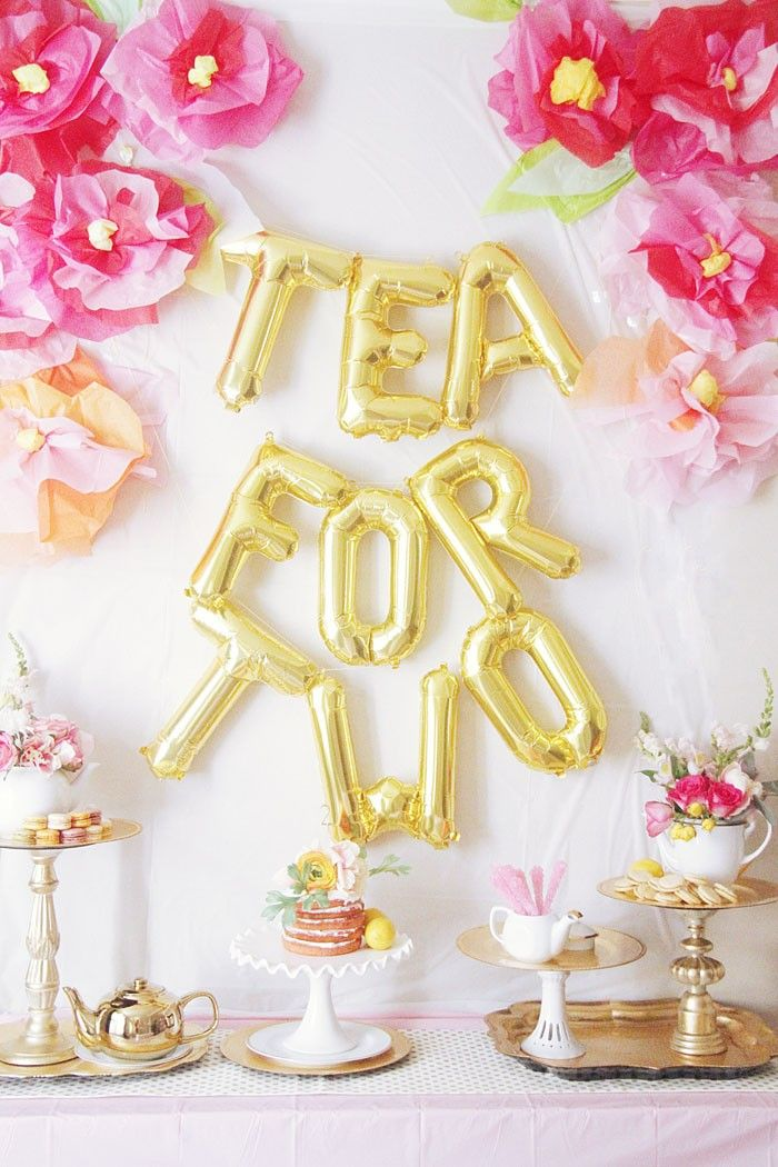 Best Tea For 2 Birthday Party Ideas For The Tea Party Tea This Month