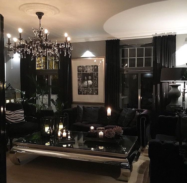 Best All Black Furniture In Dark Living Room Iamlexlethal This Month