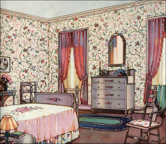 Best 1924 Floral Bedroom Design Inspiration From 20S 1920S This Month