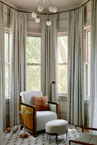 Best Floor To Ceiling Decorating Ideas Bay Window Curtains This Month
