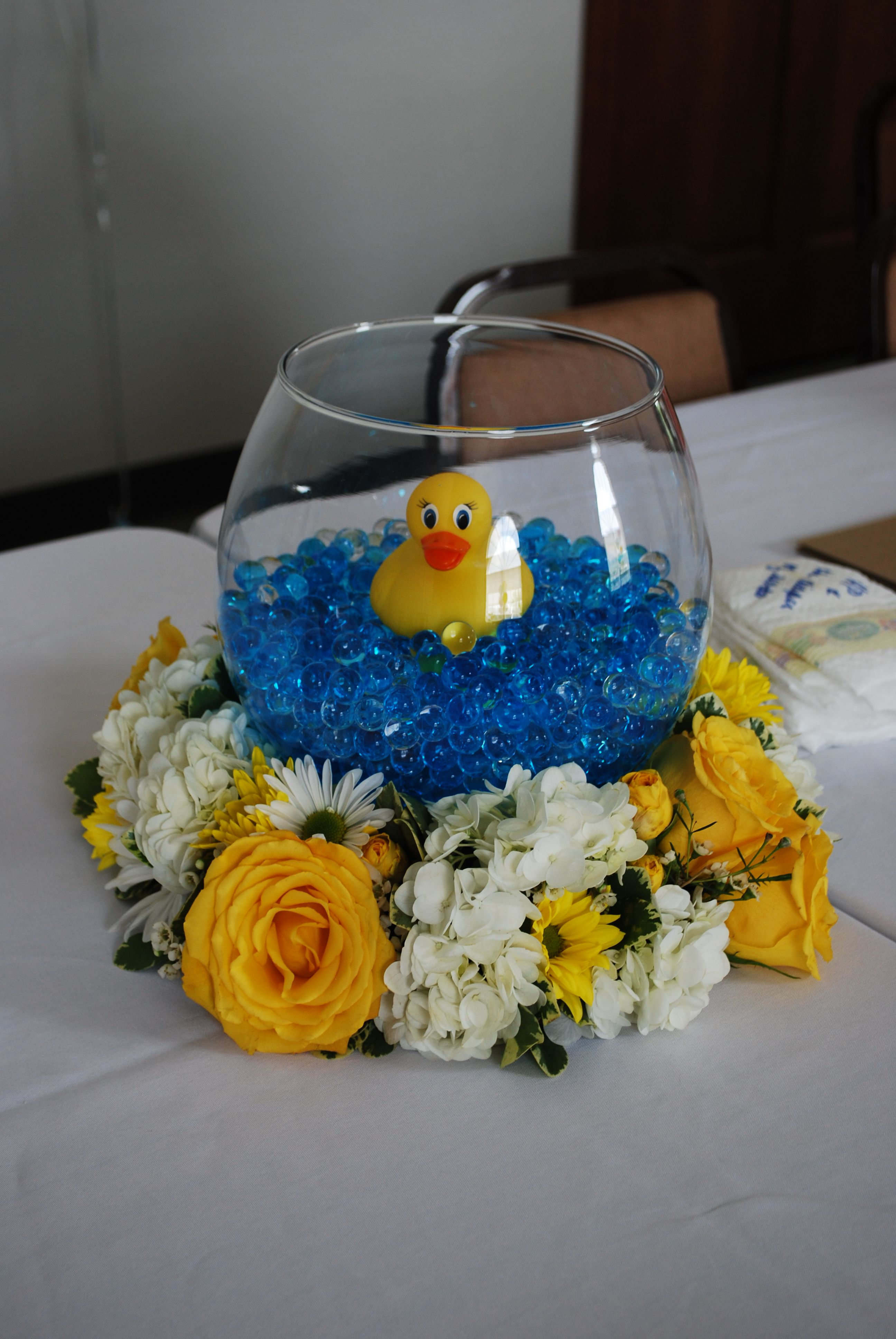 Best Baby Shower Rubber Duck Centerpieces My Centerpieces For This Month